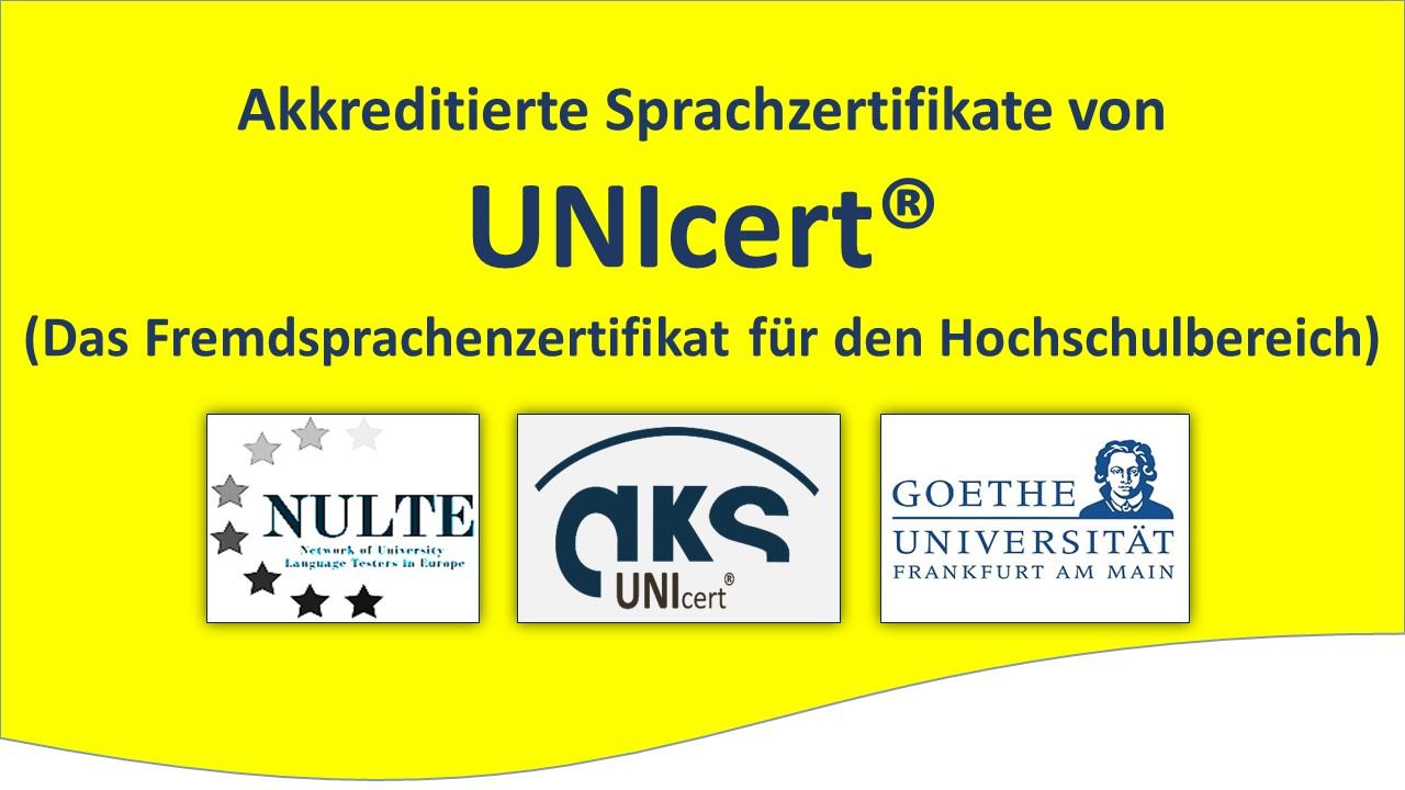 Goethe Universität Sprachnachweise